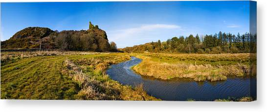 Waterford Canvas Print - River Flowing Through Landscape by Panoramic Images