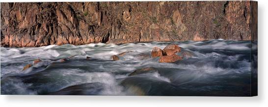Colorado Rapids Canvas Print - River Flowing Through Rocks, Grand by Panoramic Images