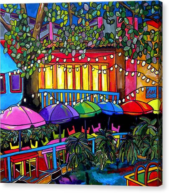 River In Color Canvas Print