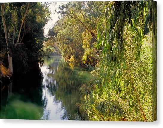 River Jordan Canvas Print