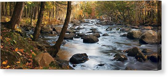 River Majesty Panorama Canvas Print