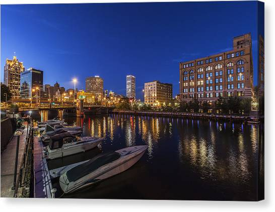 River Nights Canvas Print