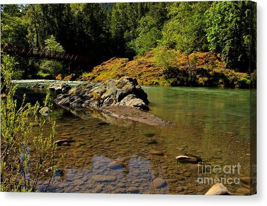 River Of Love  Canvas Print by Tim Rice