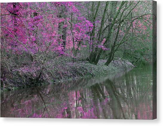 River Of Pastel Canvas Print