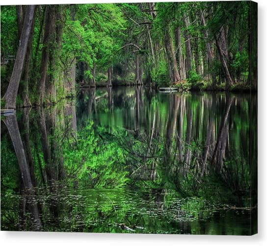 River Of Reflections Canvas Print