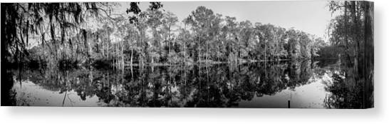 River Pano Canvas Print