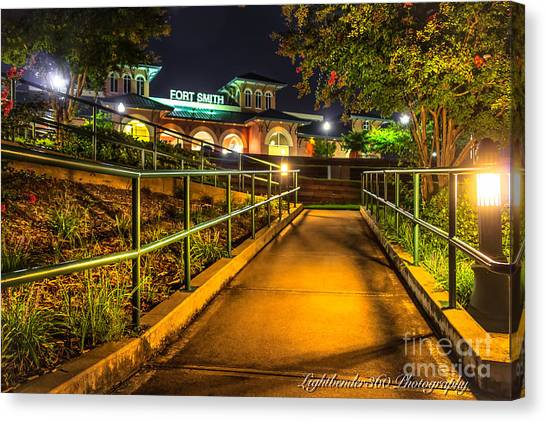 River Park Canvas Print