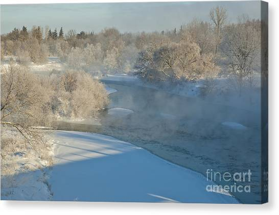 River Pastorale I Canvas Print