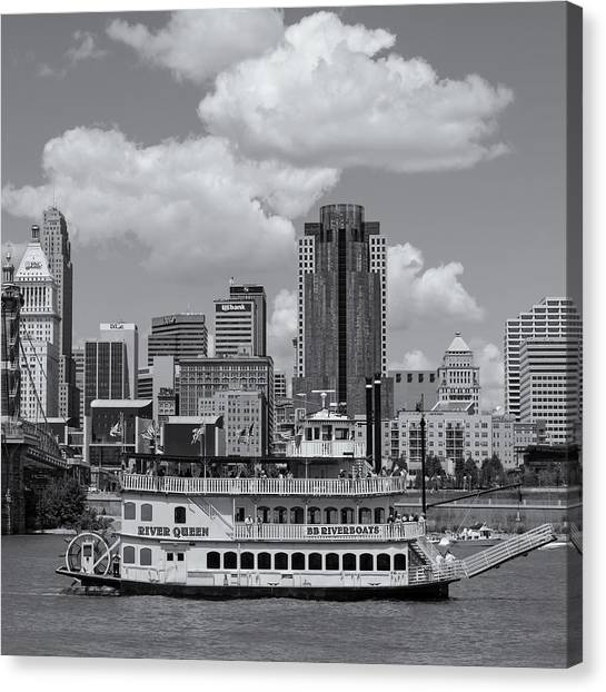 River Queen Canvas Print