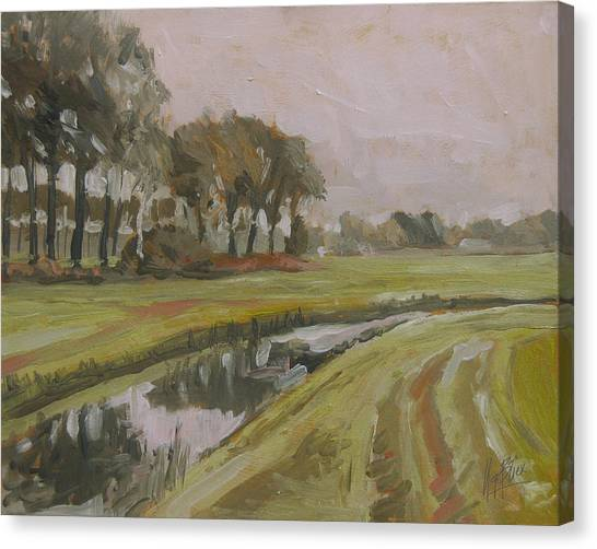 Briex Canvas Print - River Reusel Near Baarschot by Nop Briex