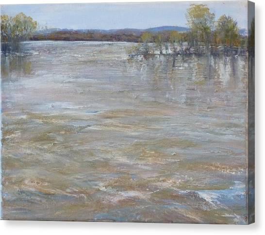 River Rising Canvas Print