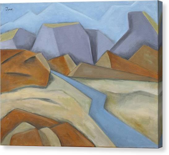 River Road Canvas Print