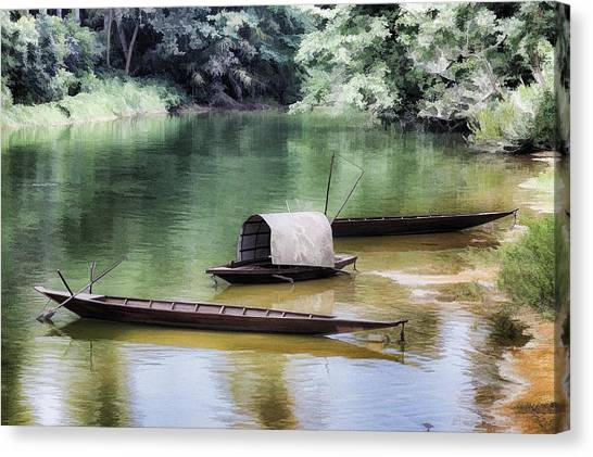 River Tribe Canvas Print
