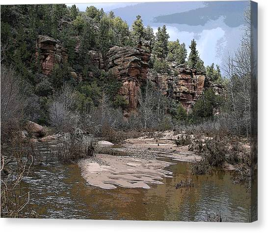 River View Canvas Print