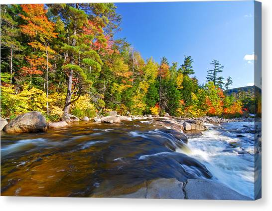 River View N.h. Canvas Print