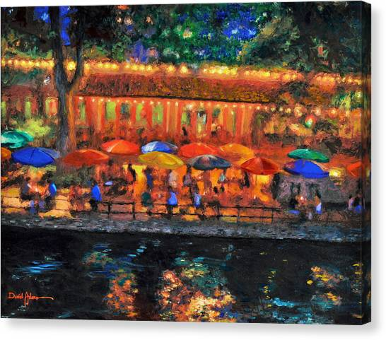 Da190 River Walk By Daniel Adams Canvas Print
