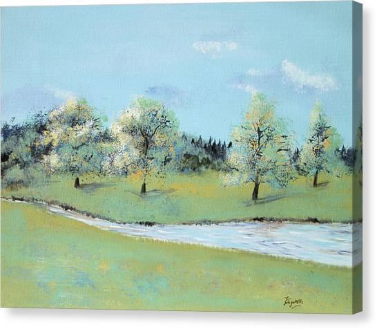 River Windrush Canvas Print
