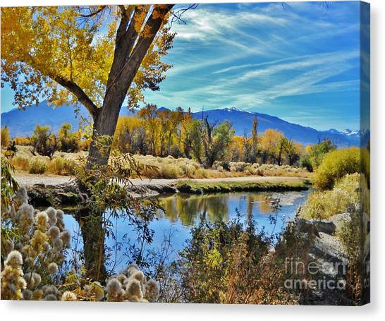 River Works Canvas Print