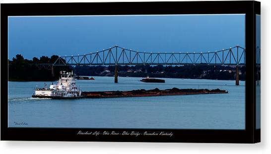 Riverboat Life Canvas Print