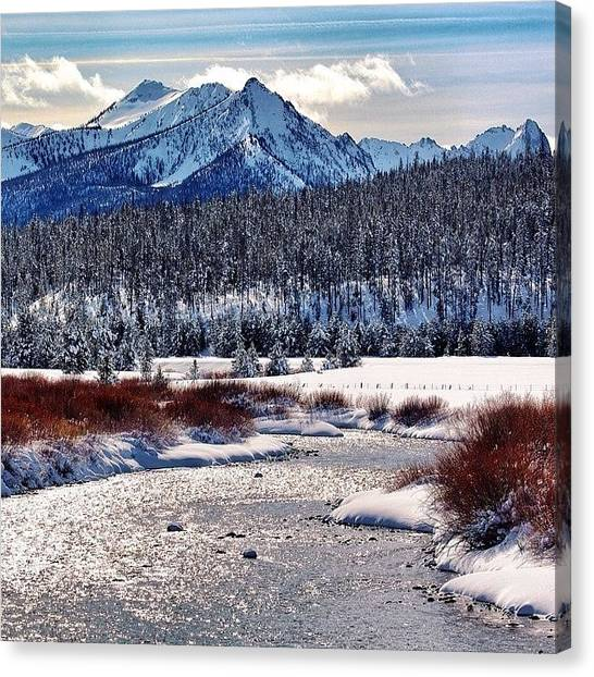 Idaho Canvas Print - #riverofnoreturn Version 2.0 #idaho by Cody Haskell
