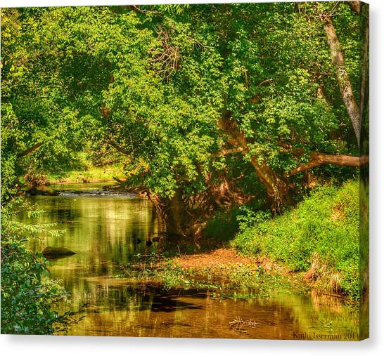 River's Bend Canvas Print by Kathi Isserman