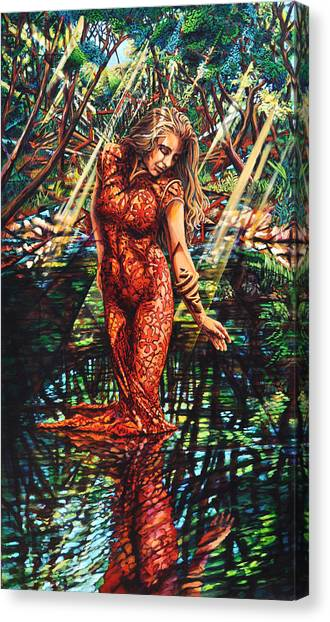 River's Edge Canvas Print