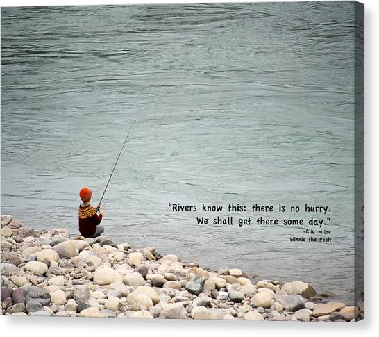 Rivers Know This Canvas Print