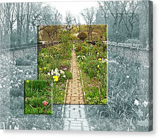 Riverside Garden Canvas Print