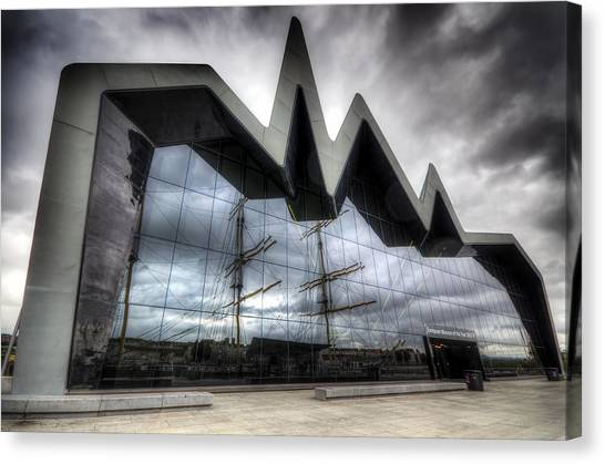 Riverside Museum Canvas Print