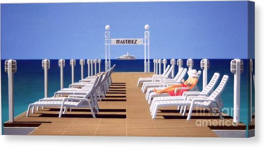 Riviera Dreaming Canvas Print