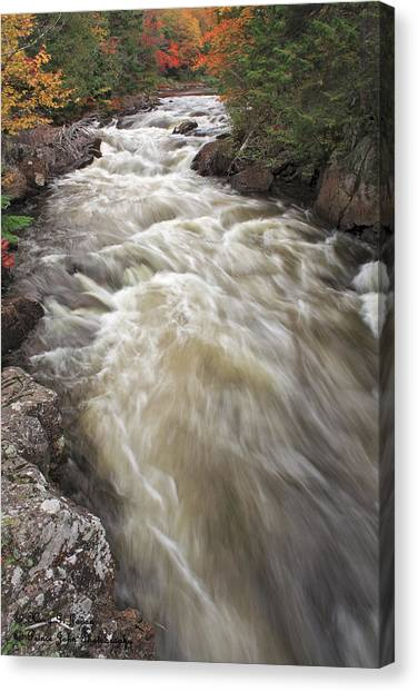 Riviere Du Diable Canvas Print