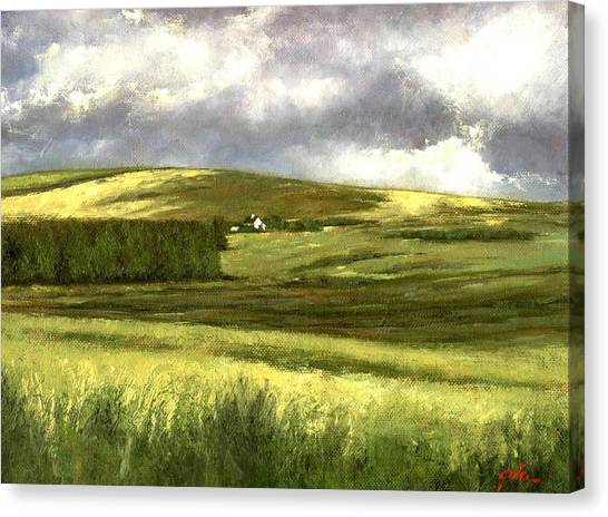 Canvas Print - Road To Ardara by Jim Gola