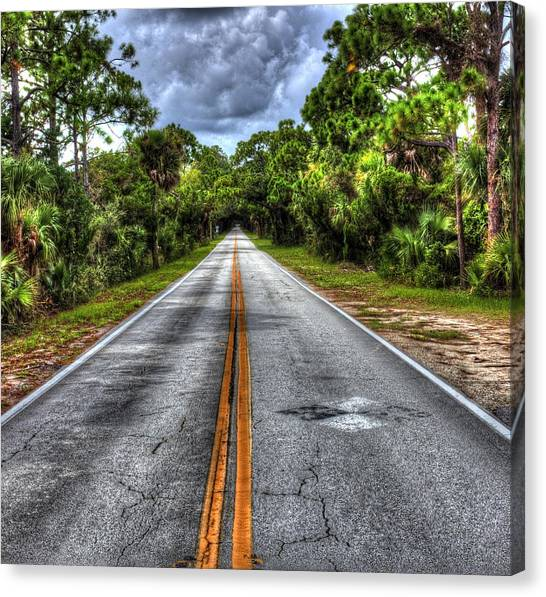 Road To No Where Canvas Print