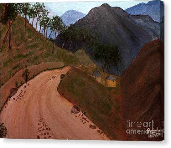 Road To The Hills II Canvas Print