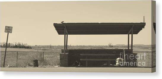 Roadside Rest Canvas Print