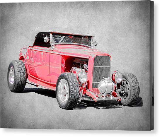 Canvas Print - Roadster Red by Steve McKinzie