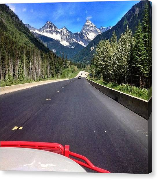 Roads Canvas Print - #roadtrippin by Cody Haskell