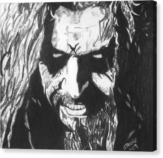 Rob Zombie Canvas Print by Jeremy Moore