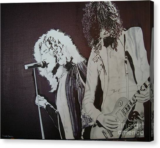 Robert And Jimmy Canvas Print