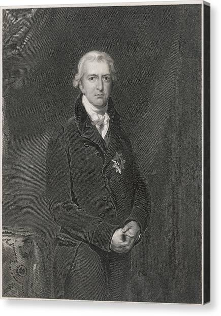 Robert Banks Jenkinson (1770-1828) Canvas Print by Mary Evans Picture Library