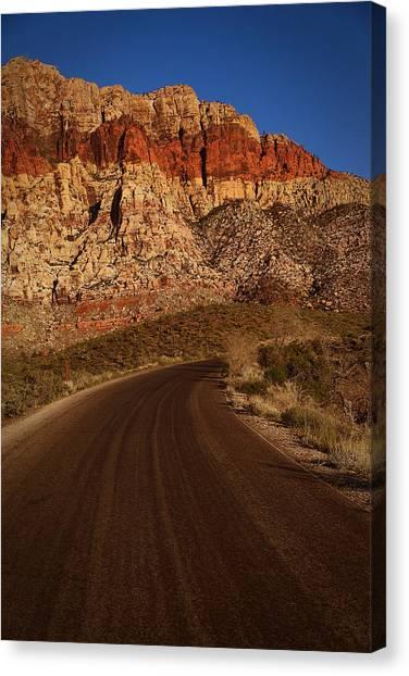 Robert Melvin - Fine Art Photography - 13 Mile Loop Canvas Print