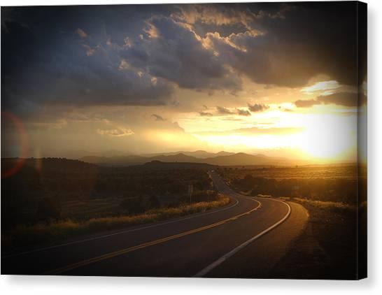 Robert Melvin - Fine Art Photography - Arizona Sunset Canvas Print