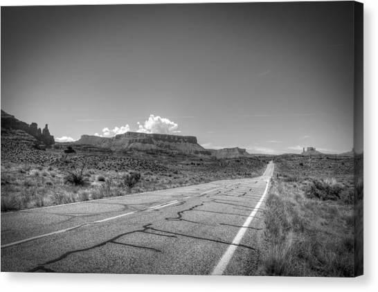 Robert Melvin - Fine Art Photography - Highway 128 Canvas Print