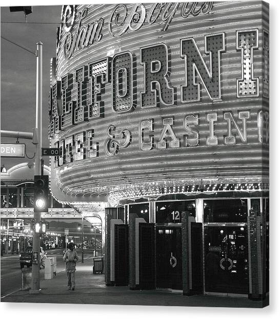 Robert Melvin - Fine Art Photography - Sin City - The Californian Canvas Print
