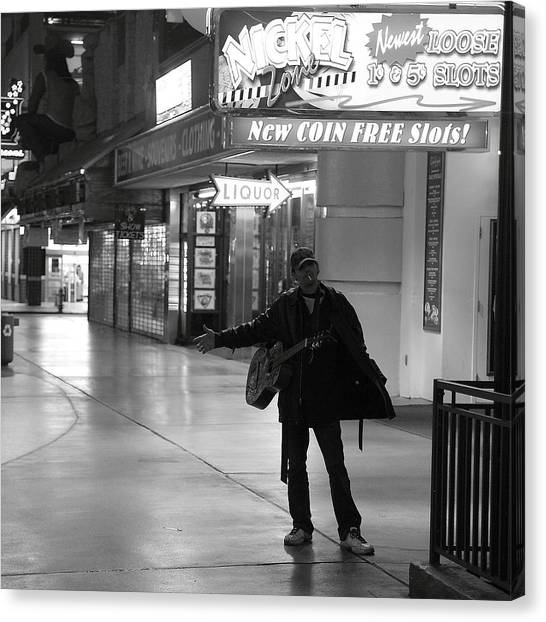 Robert Melvin - Fine Art Photography - Sin City - Where You From Canvas Print