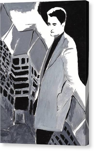 Robert Pattinson 129 Canvas Print