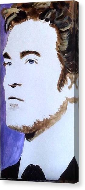 Robert Pattinson 219 Canvas Print