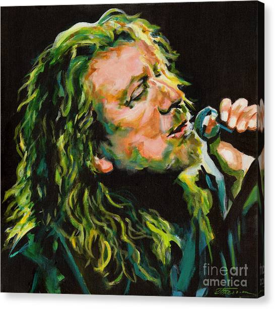 Robert Plant 40 Years Later Like Never Been Gone Canvas Print