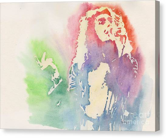 Robert Plant Canvas Print by Robert Nipper