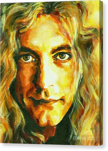 Robert Plant. The Enchanter Canvas Print